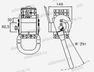 Мультиконнектор MultiFaster P510-чертеж1