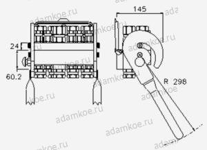Мультиконнектор MultiFaster P10A-чертеж1