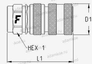 БРС UHP-150 - female