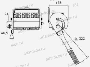 Мультиконнектор MultiFaster P1004-чертеж1