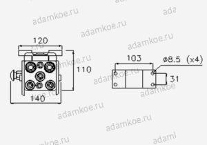 MultiFaster P5065-чертеж2