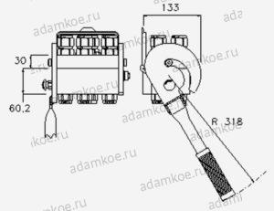 MultiFaster P608G-чертеж1