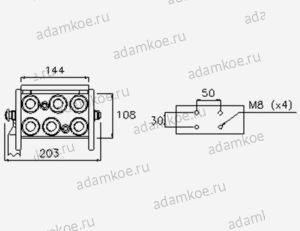 MultiFaster P608G-чертеж2